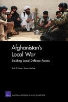 Afghanistan's Local War