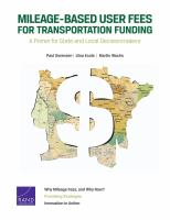 Mileage-based User Fees for Transportation Funding