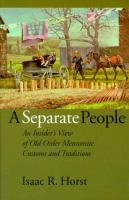 A Separate People