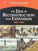 The Era of Reconstruction and Expansion