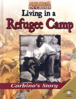 Living in A Refugee Camp