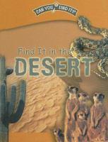 Find It in the Desert