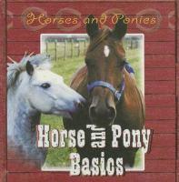 Horse and Pony Basics