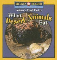 What Desert Animals Eat