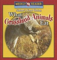 What Grassland Animals Eat