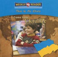 I Come From Ukraine