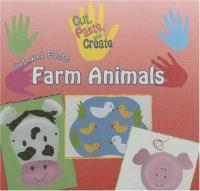 Cut and Paste Farm Animals