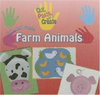 Cut and Paste Farm Animals