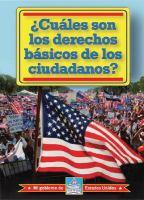 ¿Cuáles son los derechos básicos de los ciudadanos?