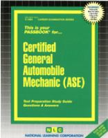 Certified General Automobile Mechanic (CGAM)