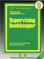 Supervising Bookkeeper