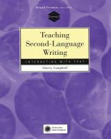 Teaching Second-language Writing
