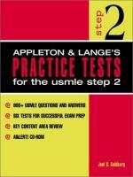 Appleton & Lange's Practice Tests for the USMLE Step 2