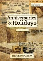Anniversaries And Holidays
