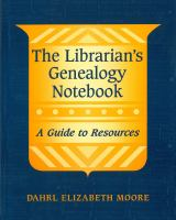 The Librarian's Genealogy Notebook