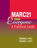 MARC21 for Everyone