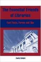 The Essential Friends of Libraries