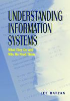 Understanding Information Systems