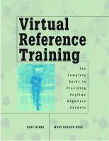 Virtual Reference Training
