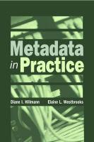 Metadata in Practice