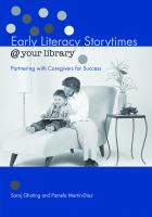 Early Literacy Storytimes @ your Library