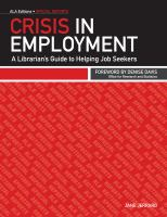 Crisis in Employment