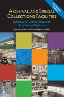 Archival and Special Collections Facilities