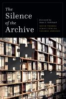 The Silence of the Archive
