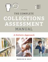 The Complete Collections Assessment Manual