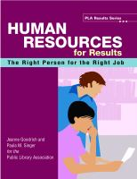 Human Resources for Results