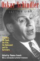 Oscar Schindler and His List