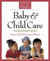 Focus on the Family Complete Book of Baby & Child Care