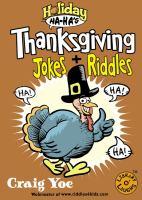 Thanksgiving Jokes + Riddles