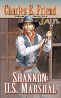 Shannon, U.S. Marshal