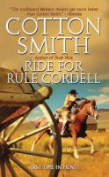 Ride for Rule Cordell