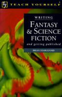 Writing Fantasy & Science Fiction, and Getting Published
