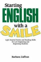 Starting English With A Smile