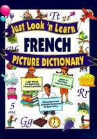 Just Look 'n Learn French Picture Dictionary