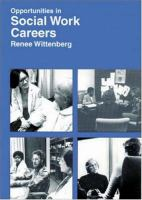 Opportunities In Social Work Careers