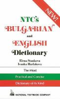 NTC's Bulgarian and English Dictionary