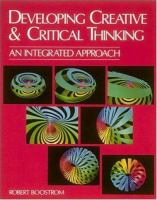 Developing Creative & Critical Thinking