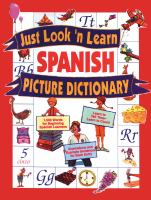 Just Look 'n Learn Spanish Picture Dictionary