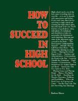 How to Succeed in High School