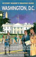 Mystery Reader's Walking Guide To Washington D.C.