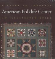 Library of Congress American Folklife Center