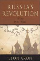 Russia's Revolution