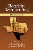 Electricity Restructuring