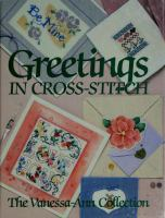 Greetings in Cross-stitch