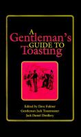 A Gentleman's Guide to Toasting
