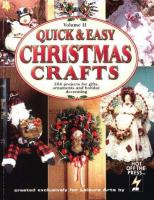 Quick & Easy Christmas Crafts, Vol. 2